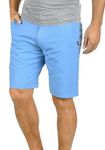 !Solid Thement Herren Chino Shorts Bermuda Kurze Hose aus 100% Baumwolle Regular Fit, Größe:L, Farbe:Azure Blue (2203)