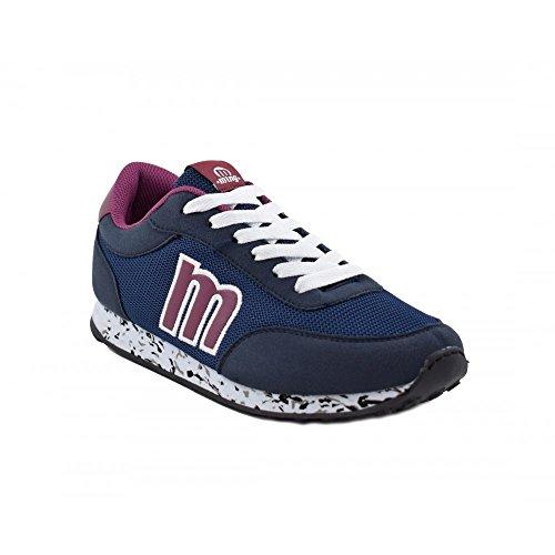 Benavente , Damen Sneaker Marineblau / Bordeauxrot