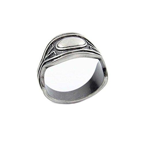 Film Ring T'Challa Cosplay Metall Schmuck Cosplay Kostüm Zubehör Kleidung Geschenk für Erwachsene Waren