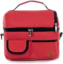 Bolsa fiambrera isotérmica (color a elegir azul/azul oscuro/rojo/rosa)