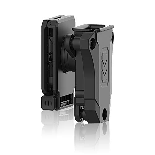 efluky Portacargador Solo Funda para Pistola Cargador Bolsa Universal Portacargador Doble para H&K USP FS/Compact 9mm/.40/Beretta/Golck 17 19/CZ 75/Walther P99/Sig Sauer p226, Belt Clip 360°Adjustable