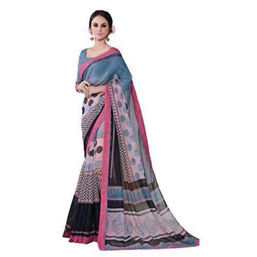 Jay Sarees Office Casual Partywear Ethnic Indian Linen Saree - Jcsari2995d1951