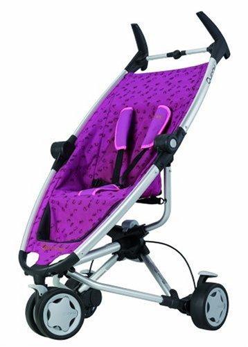 Quinny 65603020 - Zapp roller pink, inkl. Sonnendach, Regenverdeck, Reisetasche und Adapter für die Maxi-Cosi Babyschale