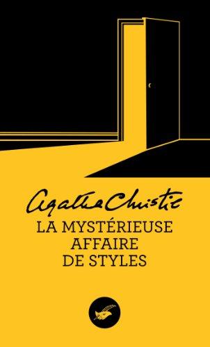 La mystérieuse affaire de styles por Agatha Christie