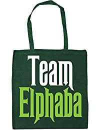 HippoWarehouse Team Elphaba Tote Shopping Gym Beach Bag 42cm x38cm, 10 litres