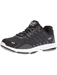 Zapatillas para caminar RYKA Women's Dominion, Negro / Blanco, 10 M US