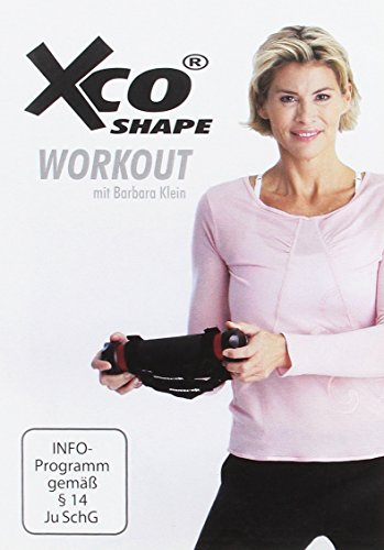 XCO Workout Shape DVD mit Barbara Klein - Trainings-Programm / Übungen für Körperspannung und Fettverbrennung, Sprache: Deutsch, ca. 70 Minuten