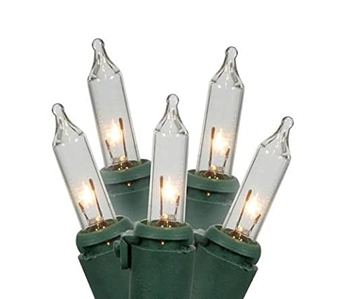 NOMA/INLITEN-IMPORT Christmas Lights Set, Mini, Extra-Bright Clear, 35-Ct.