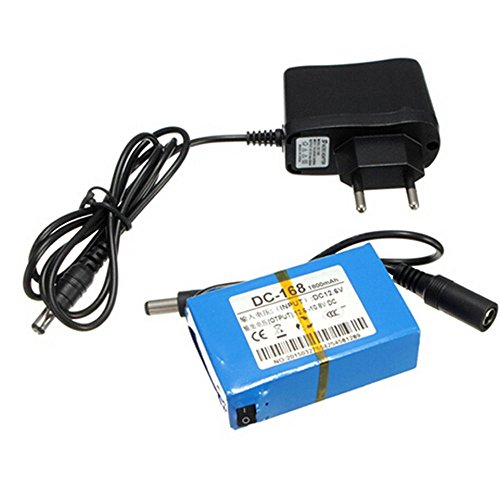 dc-168DC 12V 1800mAh batteria per fotocamera CCTV Wireless Monitor Bambino con s