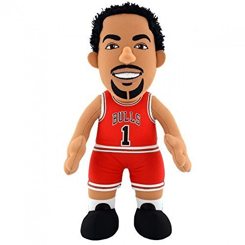 Chicago Bulls Derrick Rose 25cm Stoff Figur (Basketball-trikots Air)
