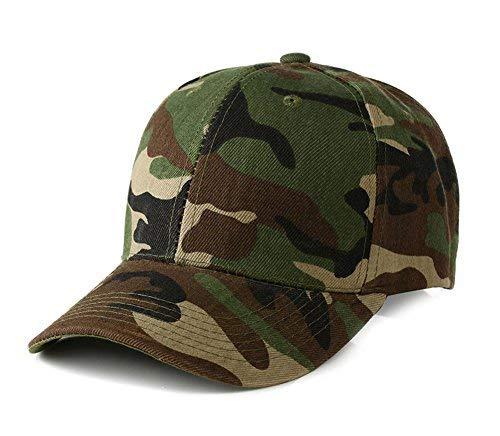 UltraKey Baseballkappen, Militär-Camouflage-Kappen, Schirmmützen, können für Outdoor-Aktivitäten wie Angeln, Camping und Jagd verwendet Werden Grüne