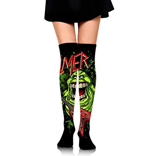 HOJJP Socks Ghostbuster Logo Unisex Casual Cotton Knee High Boot Socks Tube Socks Stockings ()