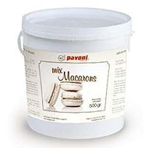 Pavoni-Moule Silicone Pour Macaron de 380 x 300 Mm-Blanc