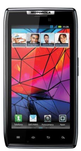 Foto Motorola RAZR XT910 - Spessore 7.1 mm, Touch 4.3'', Dual Cpu 1.2Ghz, Gps, Wi-Fi, Video Full Hd