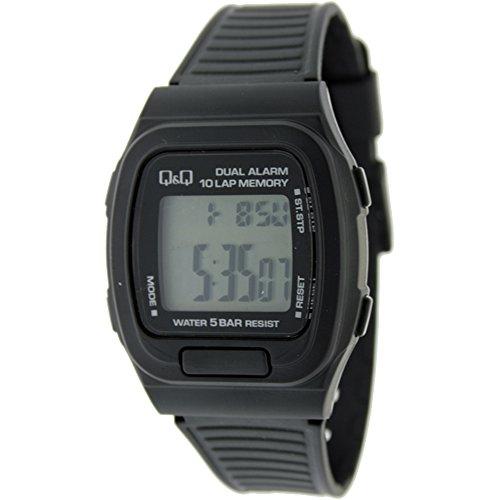 Reloj digital Caballero Q&Q Mod.MAC9-101 - Crono memorias