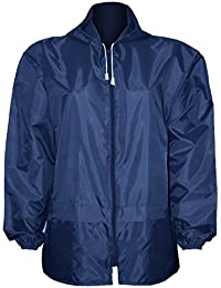 Unisex Womens Mens Cagoule Showerproof Cagoules With Hood