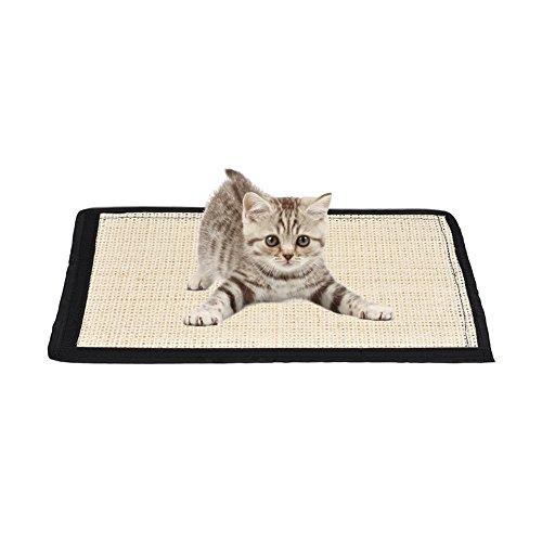 Yunt - tappeto tiragraffi per gatti, realizzato in sisal per proteggere divano e piedi dei mobili