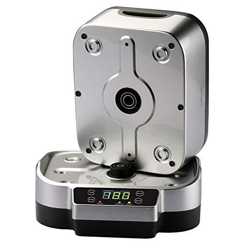 HANNEA SKYMEN Digital Ultrasonic Basket Sterilizer Cleaner Sterilizing Nail Tools Disinfection Machine (White, US PLUG)