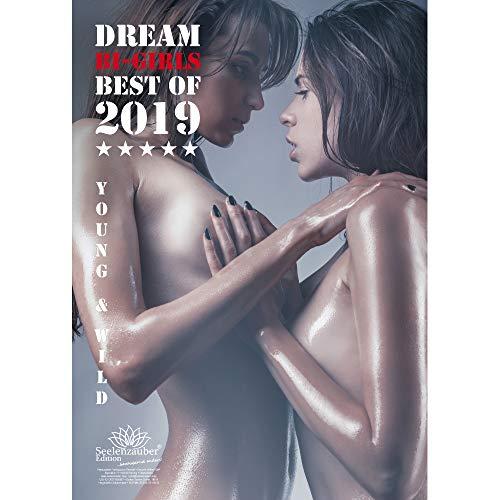 Seelenzauber - Calendario erotico 2019 di alta qualità con ragazze sexy, DIN A3, set regalo con 1biglietto d'auguri e 1biglietto di Natale [lingua italiana non garantita]