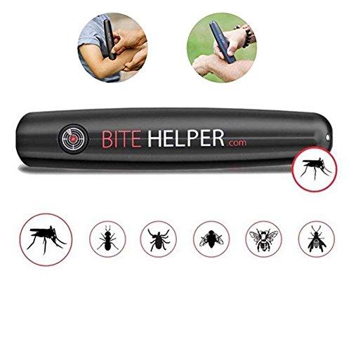 Beißhelfer - Bug Bite Itch Neutralisierer, Bug Bite Relief Lösung Für Die Ganze Familie, Schwarz, 6.5 (Mückenstiche Jucken)