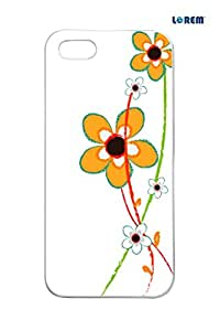 Lorem Back Cover For Apple iPhone 5/5S -Multicolor-L14170