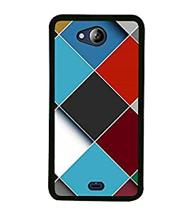 Fuson Premium 2D Back Case Cover Colourful pattern With Multi Background Degined For Micromax Canvas Play Q355