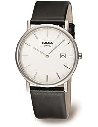 Boccia Herren-Armbanduhr Leder 3547-02
