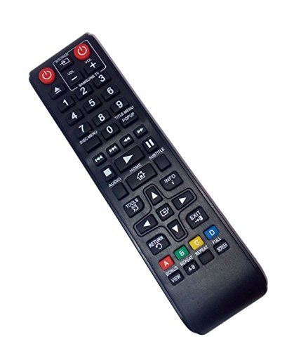 Replaced Remote Control Compatible for Samsung BD-F5100/ZA BD-J5100 BD-J5900 BD-JM59/ZA BD-H5900ZA BD Blu-Ray DVD Disc Player  available at amazon for Rs.3339