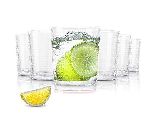 Pasabahce Andorra vasos de agua - 390 ml - conjunto de 6 - gafas de al