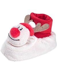 Botas para niños Baby Soft Sole Shoes Chico Chica Zapatos de Navidad Bebé recién nacido zapatillas antideslizantes LMMVP