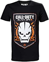 Call of Duty T-Shirt schwarz mit Black Ops III Game Logo Baumwolle