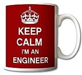 GreatDeals4you - Tasse / Mug Rétro - Keep Calm I'm An Engineer