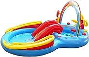 حوض لعب للاطفال بتصميم قوس قزح من انتيكس متعدد الالوان مناسب لاعمار 3 سنوات وما فوق 57453