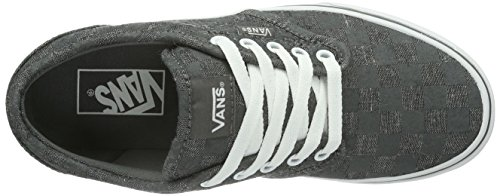 Vans W Atwood, Baskets mode femme Noir (Pewter/Gray)
