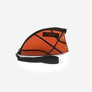 Frau besonders sportlich Sportlerin Sport Lehrerin Basketball Geschenk orange Freundin außergewöhnlich clutch Tasche Kosmetik Etui Reise Ball