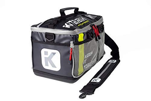 KitBrix Tasche Rucksack - zur Aufbewahrung von Sportausrüstung - für Triathlon Schwimmen Laufen Radfahren & Extrem - Hindernislauf - Schwarz