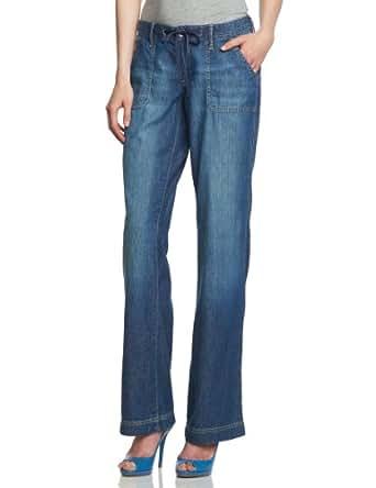 Eddie Bauer Damen Jeans Niedriger Bund 22317196, Gr. 34 (4), Blau (canyon)