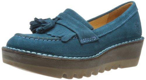 Fly London Juno, Women's Loafers, Blue (Petrol), 6 UK (39 EU)