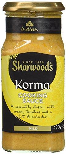 SHARWOOD'S Sauce Curry Korma - Lot de 3