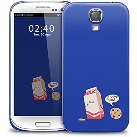 copertura della cassa del telefono di protezione carino latte biscotto amore Samsung Galaxy S4 GS4
