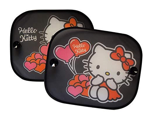 Hello Kitty HKSAA012 Sonnenschutz, 2er Set, Rosa (Kitty Hello Auto)