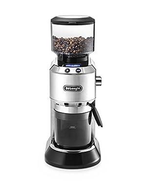 De'Longhi Dedica Style KG521.M Coffee Grinder - Silver by DeLonghi