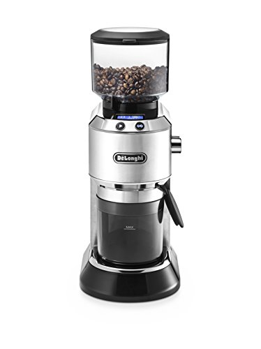 Molinillo de café eléctrico De'Longhi kg 521.m, plata