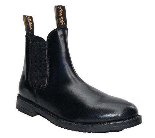 Gallop Schwarz Classic Leder Jodhpur-Boots, EU 37 Jodhpur Und Paddock Boots