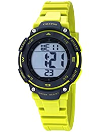 Calypso - K5669/1 - Montre Mixte - Quartz - Digitale - Alarme - Chronomètre - Bracelet plastique jaune