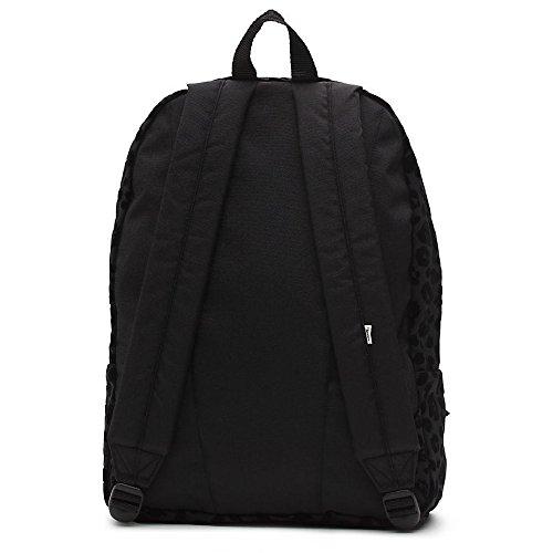 Imagen de vans realm backpack  tipo casual, 42 cm, 22 liters, negro black leopard  alternativa