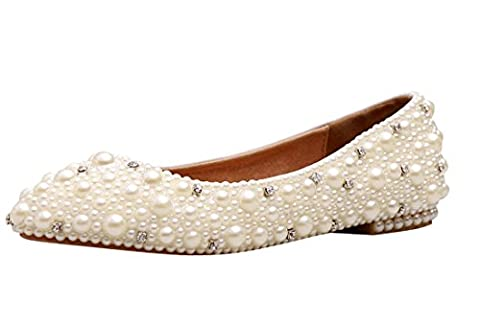 Minitoo , Semelle compensée femme - Blanc - Ivory-Flat, 38 2/3
