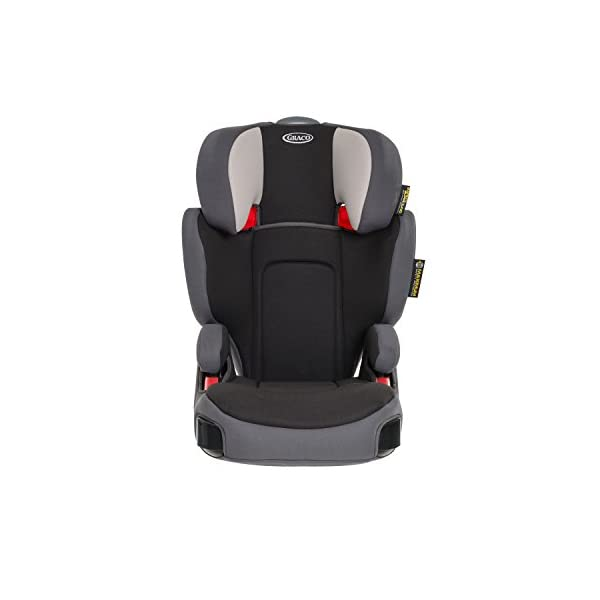 Graco Assure Group 2/3 Car Seat - Aluminium Graco Side impact protection for head, lower back and hips Five position height adjustable headrest and padded armrests for extra comfort Lightweight and easy to transfer from car to car 1