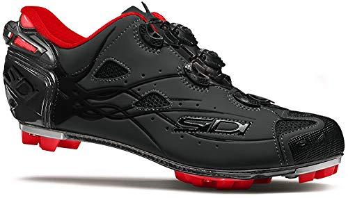 Sidi Tiger MTB-Schuh, (Schwarz-Mattes schwarzes Futter), 45 EU