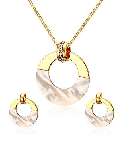 vnox-edelstahl-18k-gold-uberzog-shell-schmucksachesatze-fur-frauen-madchenhalskette-ohrringe